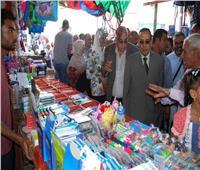 شوشة: افتتاح معرض عودة المدارس بالعريش
