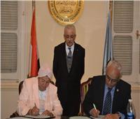 وزير التعليم يشهد توقيع بروتوكول التعاون مع مؤسسة المدارس الدولية في مصر