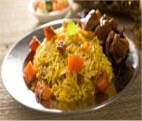 طبق اليوم .. «أرز بالخضروات مع لحم كباب حله»