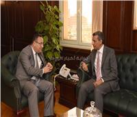 محافظ الإسكندرية يستقبل قنصل السعودية للتهنئة بتوليه مهام منصبه