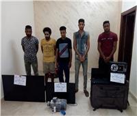 ضبط تشكيل عصابي تخصص في سرقة الوحدات السكنية بمدينة بدر