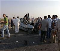 مصرع شخص في انقلاب سيارة بطريق الإسماعيلية
