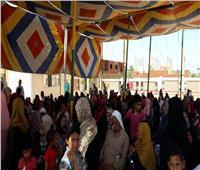 فحص 4541 مريضًَا ضمن قافلة الأزهر بشمال سيناء