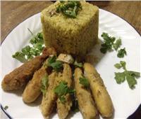 طبق اليوم .. «أرز بالبطارخ المقلية»