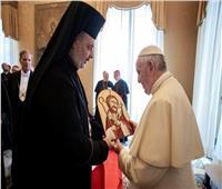 البابا فرنسيس يلتقي الأنبا توماس ضمن لقائه الأساقفة الجدد