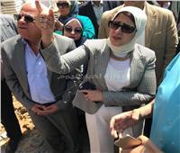 وزيرة الصحة تُشيد بمعدل الإنجاز في بناء مستشفى بورسعيد العام