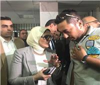 وزيرة الصحة عن طبيب تسبب في وفاة جنين: «هقفله عيادته»