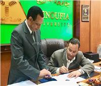 رئيس جامعة المنوفية يعتمد نتيجة التيرم الصيفى بكلية التربية الرياضية
