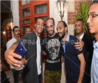 صور| تكريم محمد رمضان مع جمهوره في كفر الشيخ