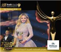 غيثة لحمامصي أفضل موديل عربية في العالم بمهرجان «الفضائيات العربية»