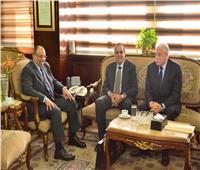 شعراوي يُستقبل محافظي شمال وجنوب سيناء لدعم تنمية سيناء