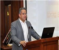 خالد العناني يشهد الملتقى الثالث لصيانة وترميم الآثار