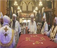 البابا تواضروس يمنح القمصية لكاهن تاناوندا