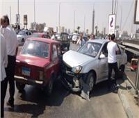 كثافات مرورية بسبب حادث أعلى كوبري أكتوبر وميدان الدويقة