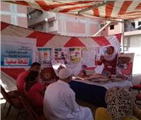 الكشف على 1059 مريضا بالمجان في قافلة طبية بالإسكندرية