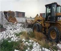 الداخلية: تنفيذ 318 قرار إزالة على الأراضي الزراعية والنيل
