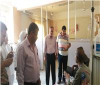 رئيس مدينة مطاي بالمنيا يتابع الحالة العامة بالوحدات الصحية