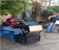البيئة: فحص عوادم ٧٥ سياره بمركز الباجور