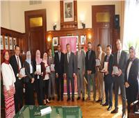 رئيس بنك مصر يكرم الفائزين في مسابقة «المعهد المصرفي»