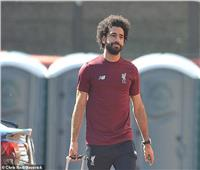 وصول صلاح ولاعبي ليفربول لملعب «أنفيلد» لمواجهة سان جيرمان