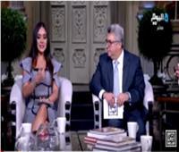 فيديو| خناقة بين الإعلامي جمال عنايت وبثينة توكل بسب الطلاق