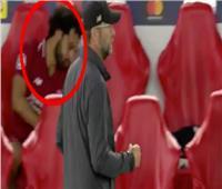 شاهد| انفعال محمد صلاح  في مباراة باريس سان جيرمان
