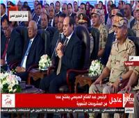 فيديو| الرئيس السيسي يطالب بتكريم أطباء المعهد القومي للكبد
