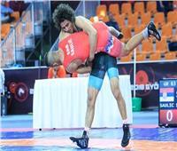 وزير الرياضة يهنئ حسن حسن بفضية بطولة العالم للمصارعة