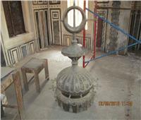 صور| بدءترميم «مسجد سارية الجبل» بقلعة صلاح الدين