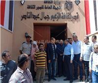 محمود شعراوي يتفقد الأعمال الإنشائية لقصر ثقافة جمال عبدالناصر بأسيوط