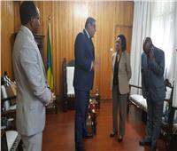 وزيرة الخارجية الإثيوبية تكرم السفير المصري في أديس أبابا