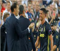 الصحف الإيطالية تركز على بكاء رونالدو بعد طرده أمام فالنسيا