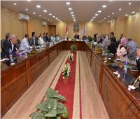 محافظ أسيوط يطالب النواب بالتعاون مع الجهاز التنفيذي