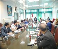 محافظ القليوبية يناقش سبل التعاون مع أعضاء مجلس النواب