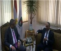 رئيس أكاديمية البحث العلمي يتابع تنفيذ المعمل المصري الصيني