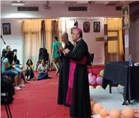 سفير الفاتيكان ومطران الأقصر يشاركان في مؤتمر الشباب علي خطي مريم
