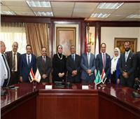 مذكرة تفاهم بين جهاز تنمية المشروعات والأكاديمية العربية