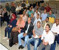المنسق العلمي بسوهاج يعقد اجتماعا لحل معوقات المشاريع بالمحافظة