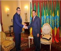 الرئيس الإثيوبي يلتقي السفير المصري ..ويؤكد: العلاقات بين البلدين تاريخية