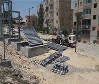 فيديو| قنبلة موقوتة على طريق الكافوري بالإسكندرية