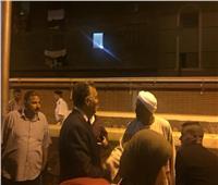 بالصور| وزير النقل في جولة تفقدية مفاجئة لمحطة الجيزة