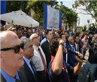 رئيس جامعة عين شمس يفتتح أول أيام العام الجامعي الجديد