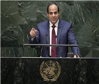 فيديو| استقبال حافل من الجالية المصرية بأمريكا للرئيس السيسي