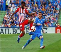 شاهد  أتلتيكو مدريد يفوز بثنائية على خيتافي في الليجا