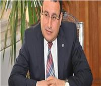 محافظ الإسكندرية يتابع أعمال ترميم طريق الكورنيش