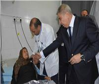 محافظ المنيا يتابع مستوى الخدمة الصحية بـ3 مستشفيات مركزية