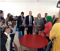 صور| محافظ القاهرة يفتتح المدرسة المصرية اليابانية بالتجمع الخامس