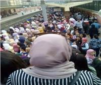غضب بين ركاب المترو بمحطة «عزبة النخل» لتأخر القطارات