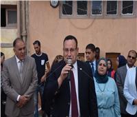 محافظ الإسكندرية يوجه طلاب المدارس بالرجوع لـ«بنك المعرفة المصري»