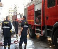 السيطرة على حريق ضخم بمنطقة المنشية في الإسكندرية